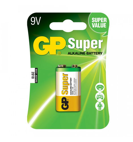 PILAS        GP      GP1604A-B1 9V