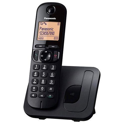 TELEFONO INA PANASON KX-TGC210SPB  NEGRO