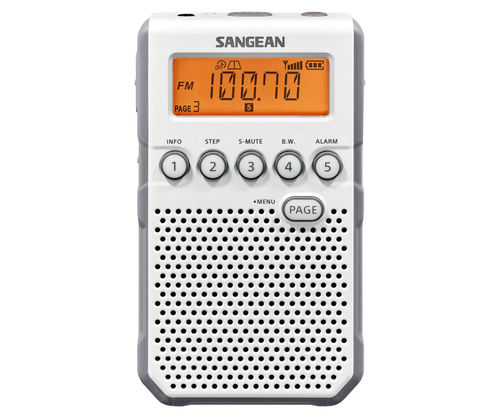 TRANSISTOR   SANGEAN DT-800 White