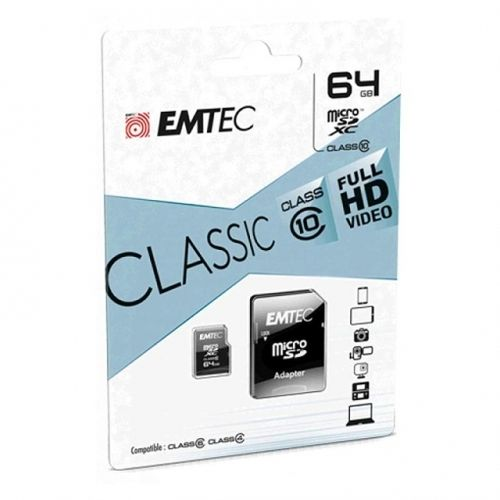 TARJETA MEM  EMTEC   MICRO SD 64GB CL.10