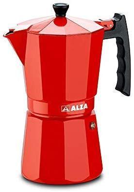 CAFETERA     ALZA    ITALIANA LUX.RED 9T